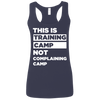 This is Training Camp (Softstyle Tank) Apparel CustomCat Ladies Softstyle Racerback Tank Navy Small