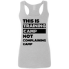 This is Training Camp (Softstyle Tank) Apparel CustomCat Ladies Softstyle Racerback Tank Sport Grey Small
