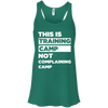 This is Training Camp (Tanks) Apparel CustomCat Bella + Canvas Flowy Racerback Tank Kelly X-Small