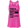 This is Training Camp (Tanks) Apparel CustomCat Bella + Canvas Flowy Racerback Tank Neon Pink X-Small