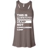 This is Training Camp (Tanks) Apparel CustomCat Bella + Canvas Flowy Racerback Tank Pebble Brown X-Small