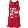 This is Training Camp (Tanks) Apparel CustomCat Bella + Canvas Flowy Racerback Tank Red X-Small