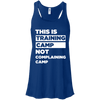 This is Training Camp (Tanks) Apparel CustomCat Bella + Canvas Flowy Racerback Tank True Royal X-Small