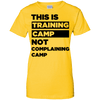 This is Training Camp (Tees) Apparel CustomCat Ladies' 100% Cotton T-Shirt Daisy X-Small