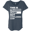 This is Training Camp (Tees) Apparel CustomCat Next Level Ladies' Triblend Dolman Sleeve Indigo X-Small
