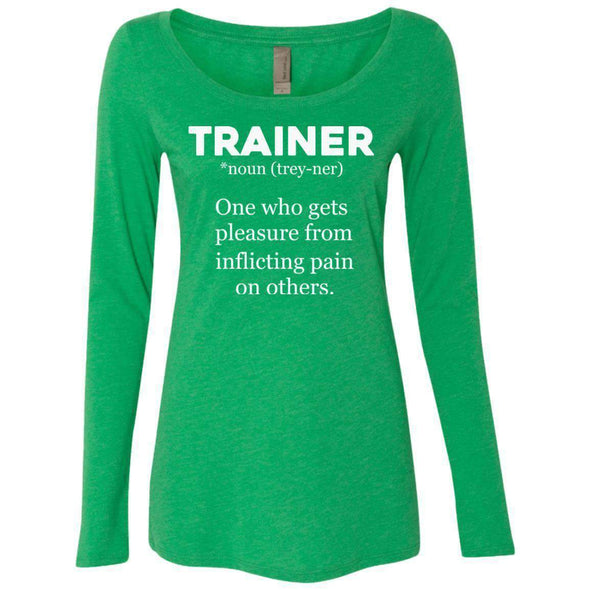 Trainer definition T-Shirts CustomCat Envy Small