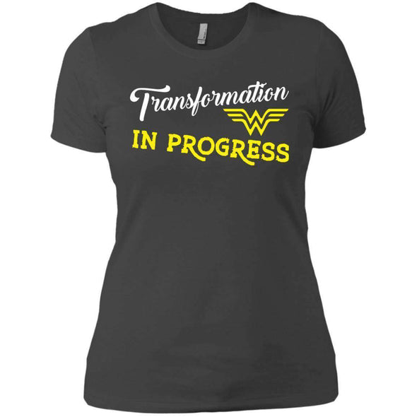 Transformation in Progress T-Shirts CustomCat Heavy Metal X-Small