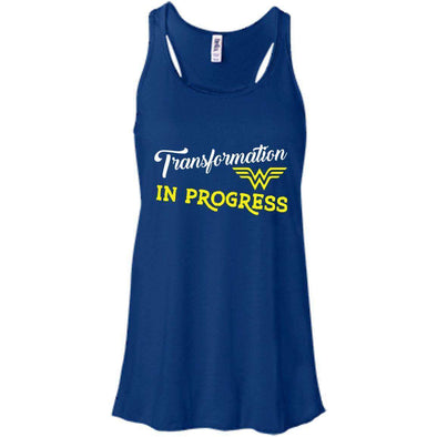 Transformation in Progress T-Shirts CustomCat True Royal X-Small