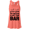 Twinkle Twinkle (Tanks) Apparel CustomCat Bella + Canvas Flowy Racerback Tank Coral X-Small
