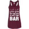 Twinkle Twinkle (Tanks) Apparel CustomCat Bella + Canvas Flowy Racerback Tank Maroon X-Small