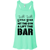 Twinkle Twinkle (Tanks) Apparel CustomCat Bella + Canvas Flowy Racerback Tank Mint X-Small