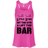 Twinkle Twinkle (Tanks) Apparel CustomCat Bella + Canvas Flowy Racerback Tank Neon Pink X-Small