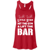 Twinkle Twinkle (Tanks) Apparel CustomCat Bella + Canvas Flowy Racerback Tank Red X-Small