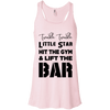 Twinkle Twinkle (Tanks) Apparel CustomCat Bella + Canvas Flowy Racerback Tank Soft Pink X-Small