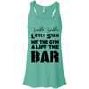 Twinkle Twinkle (Tanks) Apparel CustomCat Bella + Canvas Flowy Racerback Tank Teal X-Small