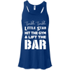Twinkle Twinkle (Tanks) Apparel CustomCat Bella + Canvas Flowy Racerback Tank True Royal X-Small