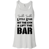 Twinkle Twinkle (Tanks) Apparel CustomCat Bella + Canvas Flowy Racerback Tank White X-Small