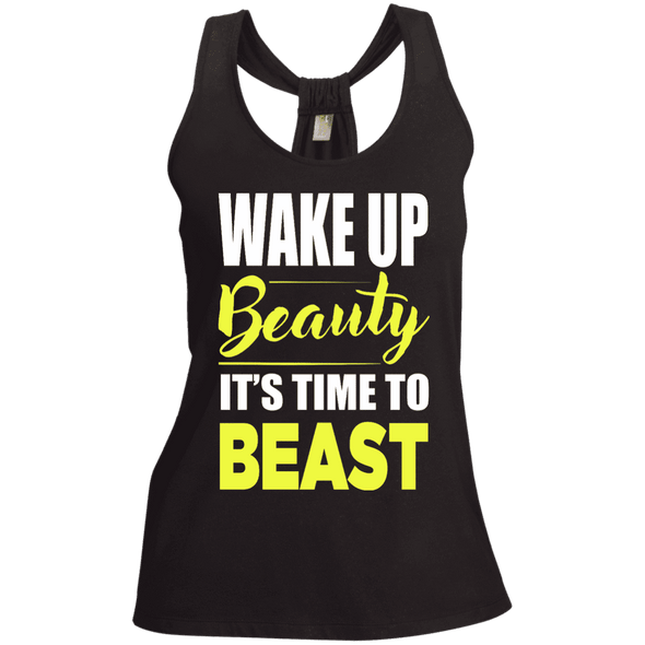 Wake Up Beauty it's Time to Beast Apparel CustomCat
