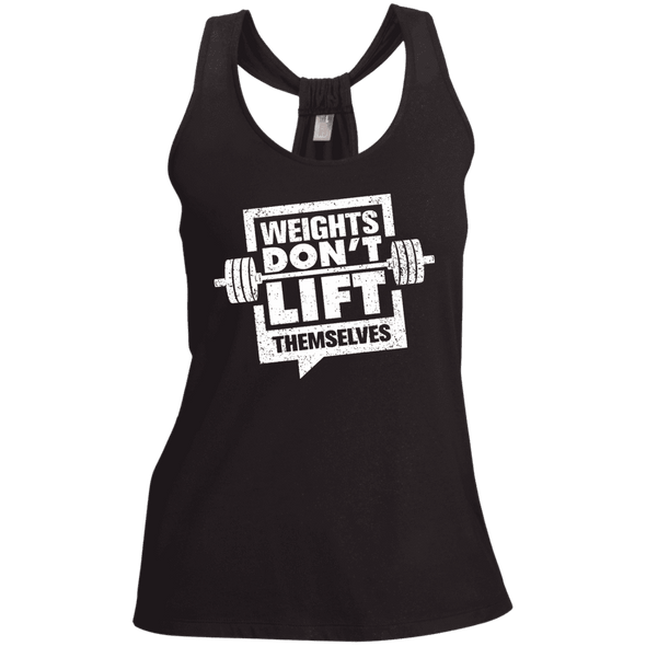 Weights Don't Lift Themselves Apparel CustomCat