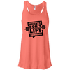 Weights Don't Lift Themselves Apparel CustomCat B8800 Bella + Canvas Flowy Racerback Tank Coral X-Small