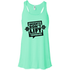 Weights Don't Lift Themselves Apparel CustomCat B8800 Bella + Canvas Flowy Racerback Tank Mint X-Small