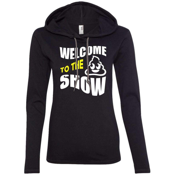 Welcome to the S_Show T-Shirts CustomCat Black/Dark Grey S