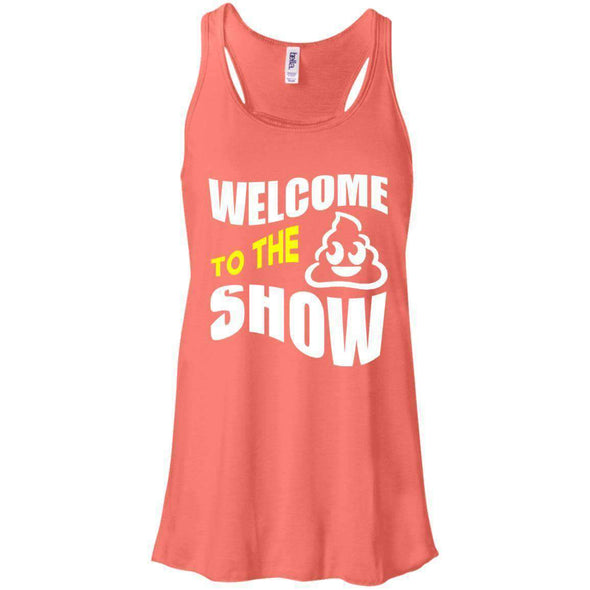 Welcome to the S_Show T-Shirts CustomCat Coral X-Small