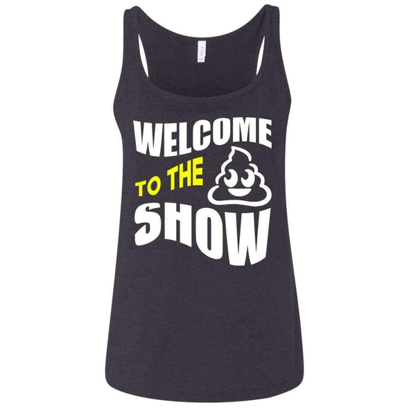 Welcome to the S_Show T-Shirts CustomCat Dark Heather Grey S