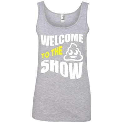 Welcome to the S_Show T-Shirts CustomCat Heather Grey S