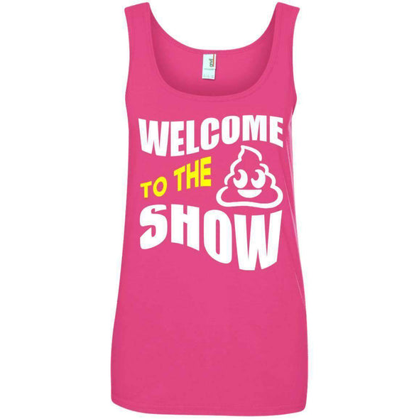 Welcome to the S_Show T-Shirts CustomCat Hot Pink S