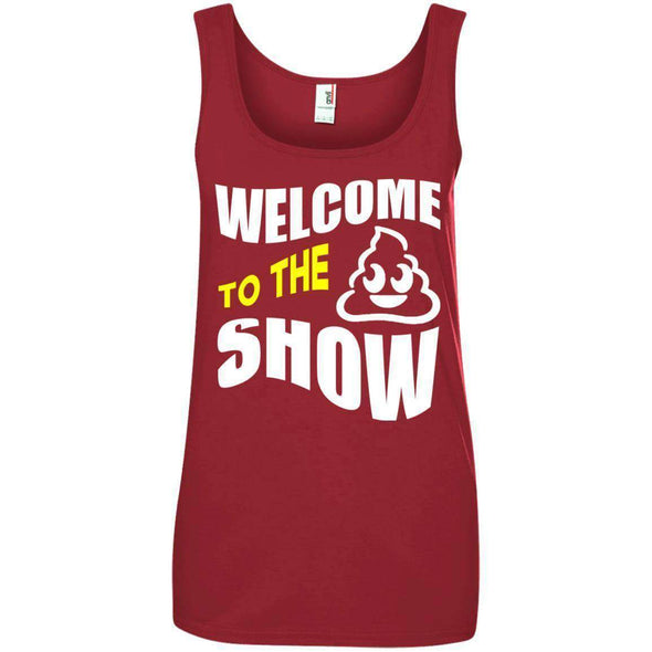 Welcome to the S_Show T-Shirts CustomCat Independence Red S