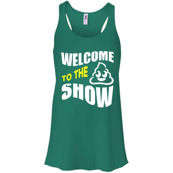 Welcome to the S_Show T-Shirts CustomCat Kelly Green X-Small