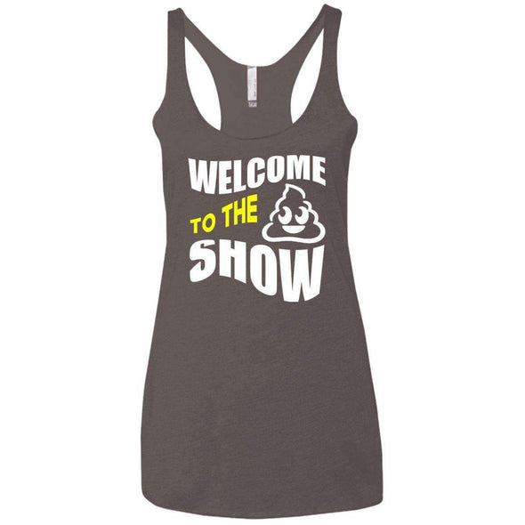 Welcome to the S_Show T-Shirts CustomCat Macchiato X-Small
