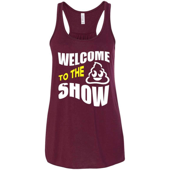 Welcome to the S_Show T-Shirts CustomCat Maroon X-Small