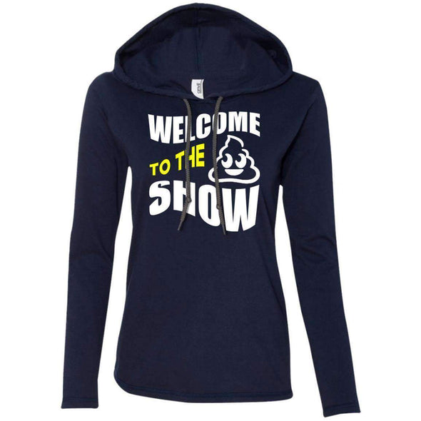 Welcome to the S_Show T-Shirts CustomCat Navy/Dark Grey S