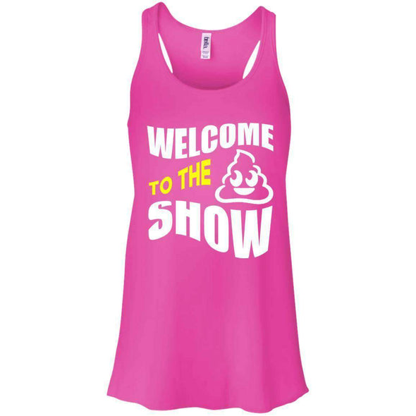 Welcome to the S_Show T-Shirts CustomCat Neon Pink X-Small