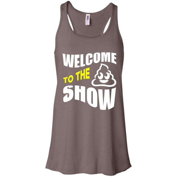 Welcome to the S_Show T-Shirts CustomCat Pebble Brown X-Small