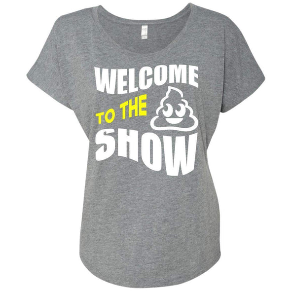 Welcome to the S_Show T-Shirts CustomCat Premium Heather X-Small