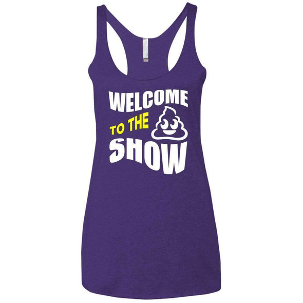 Welcome to the S_Show T-Shirts CustomCat Purple Rush X-Small