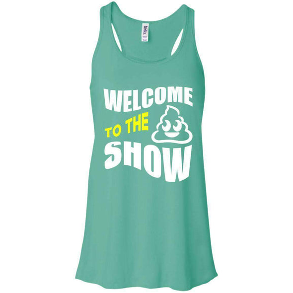 Welcome to the S_Show T-Shirts CustomCat Teal X-Small