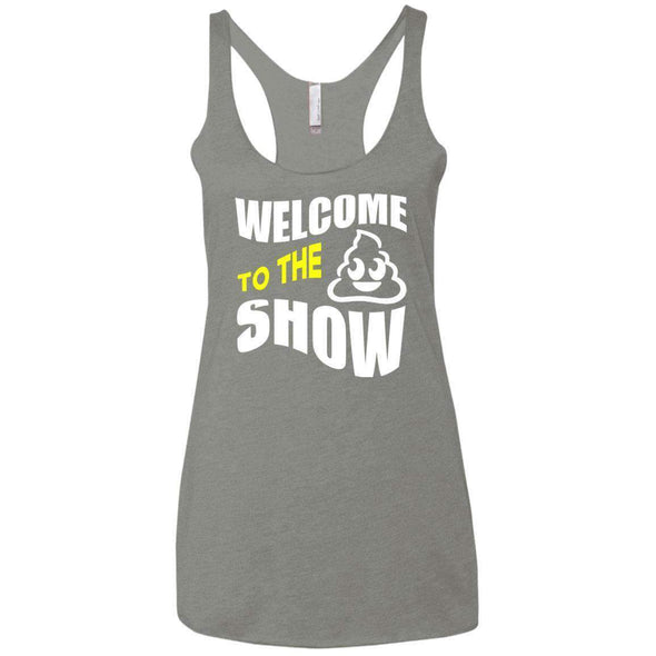 Welcome to the S_Show T-Shirts CustomCat Venetian Grey X-Small