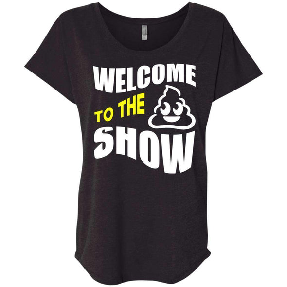 Welcome to the S_Show T-Shirts CustomCat Vintage Black X-Small