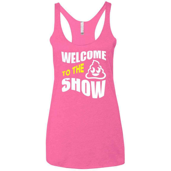Welcome to the S_Show T-Shirts CustomCat Vintage Pink X-Small