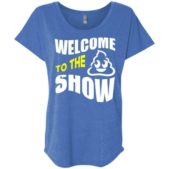Welcome to the S_Show T-Shirts CustomCat Vintage Royal X-Small