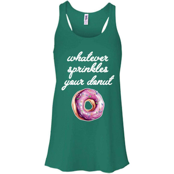 Whatever Sprinkles Your Donut T-Shirts CustomCat Kelly X-Small