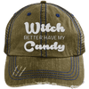 Witch Better Have my Candy Hats CustomCat Brown/Navy One Size