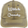 Witch Better Have my Candy Hats CustomCat Khaki/Navy One Size