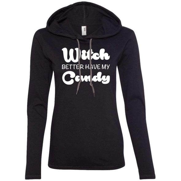 Witch Better Have my Candy T-Shirts CustomCat Black/Dark Grey Small