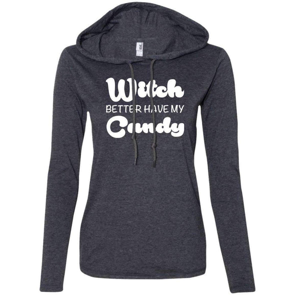 Witch Better Have my Candy T-Shirts CustomCat Heather Dark Grey/Dark Grey Small