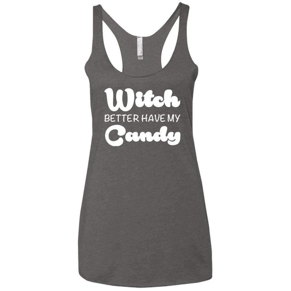 Witch Better Have my Candy T-Shirts CustomCat Premium Heather X-Small